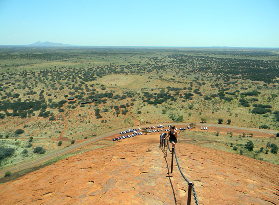 Ayers-Rock-at-the-top